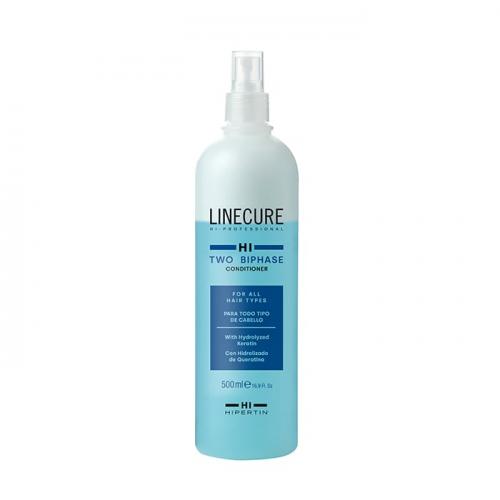 Двуфазен балсам за подхранена и блестяща коса 500 мл Linecure Two BiPhase Conditioner