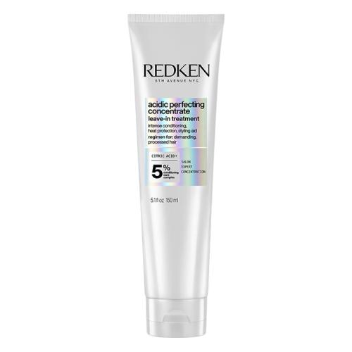 Възстановяващ термозащитен крем за увредена коса 150 мл Redken Acidic Perfecting Leave In Treatment