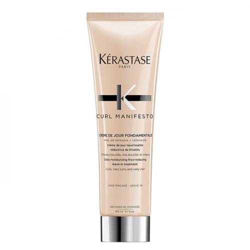 Термозащитен крем за къдрава коса 150 мл Kerastase Curl Manifesto Creme DeJour Fondamentale