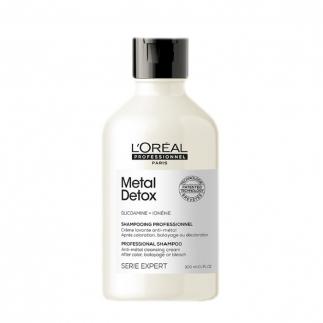 Почистващ антиметален крем-шампоан 300 мл Loreal Professionnel Metal Detox Shampoo