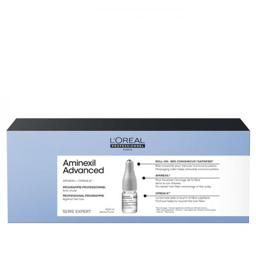Кутия ампули Loreal Professionnel Expert Aminexil Advanced 42 бр.