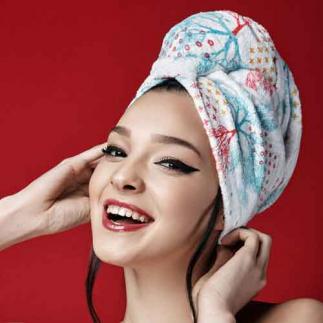 Дизайнерска кърпа за коса Aglique Accord памучна