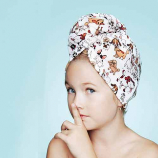 Дизайнерска кърпа за деца Aglique Amici Kids памучна