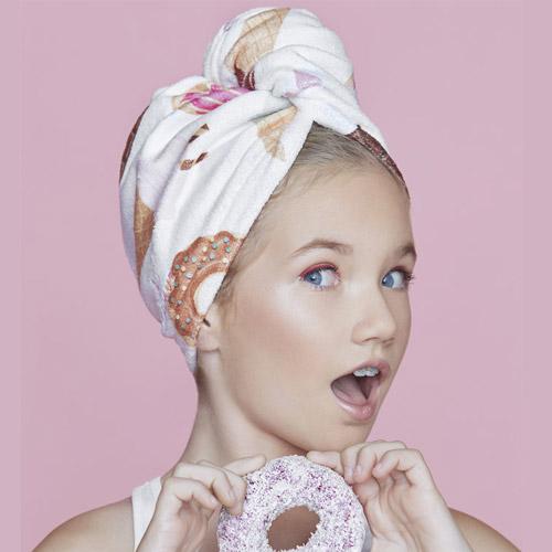 Дизайнерска кърпа за коса Aglique BAMBINI KIDS памучна