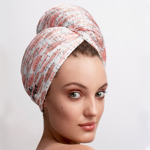 Дизайнерска кърпа за коса Aglique Lua сатенена