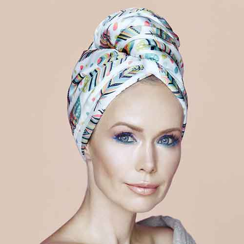 Дизайнерска кърпа за коса Aglique Only сатен