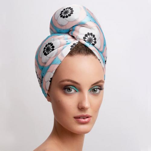 Дизайнерска кърпа за коса Aglique Petit сатенена