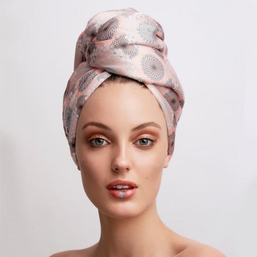 Дизайнерска кърпа за коса Aglique Zeal сатенена