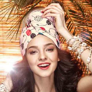 Дизайнерска плажна кърпа за коса Aglique Mon Cheri