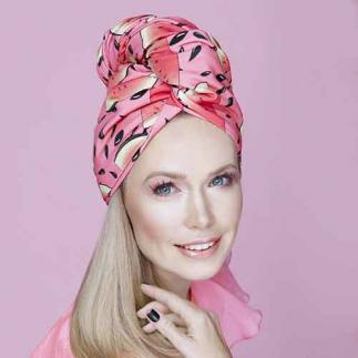 Дизайнерска плажна кърпа за коса Aglique Sandia
