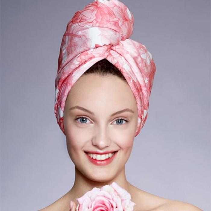 Дизайнерска плажна кърпа за коса Aglique Alma