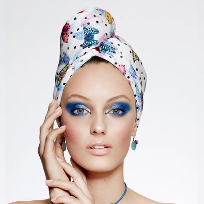 Дизайнерска плажна кърпа за коса Aglique May