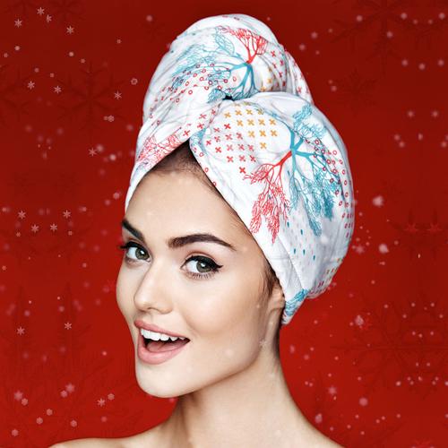 Дизайнерска кърпа за коса Aglique Accord сатен