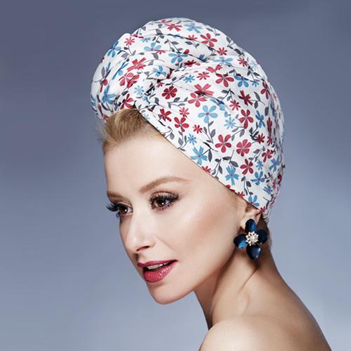 Дизайнерска кърпа за коса Aglique Fiorellino сатен