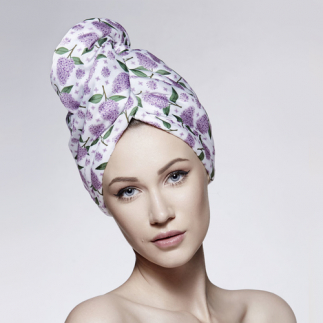 Дизайнерска кърпа за коса Aglique Spring сатенена