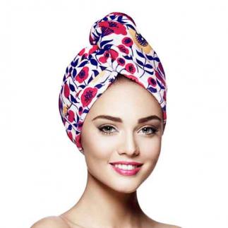 Дизайнерска кърпа за коса Aglique Poppy памучна