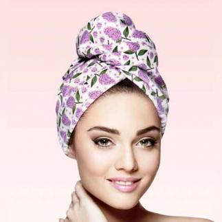 Дизайнерска кърпа за коса Aglique Spring памучна