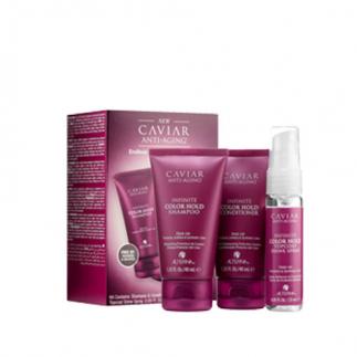 Мини комплект за боядисана коса с хайвер Alterna Caviar Infinite Color Hold Trial Kit