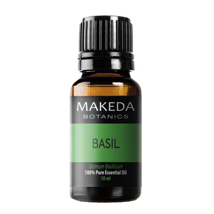 Етерично масло MAKEDA Botanics Босилек (BASIL) терапевтичен клас 10 мл