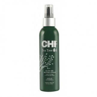 Термозащитен спрей с чаено дърво CHI Tea Tree Oil Blow Dry Primer Lotion 177 мл