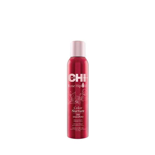 Сух спрей-шампоан за боядисана коса CHI Rose Hip Oil Dry Shampoo 198 гр