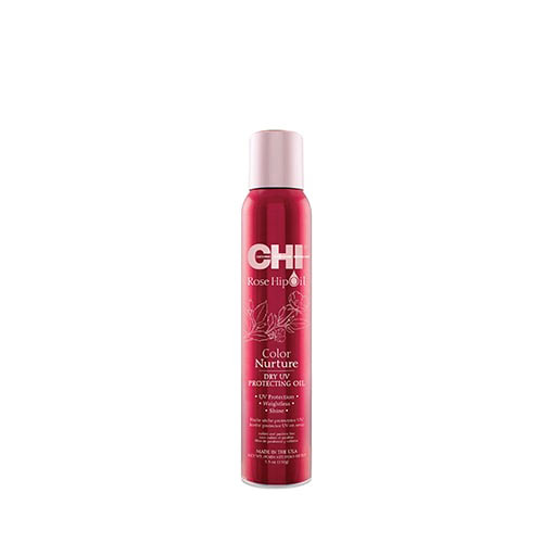 Сух UV спрей за блясък CHI Rose Hip Oil Dry Protecting Oil 150 гр