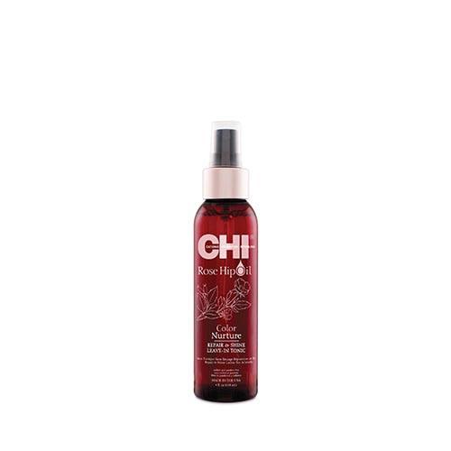 Възстановяващ спрей за боядисана коса CHI Rose Hip Oil Repair&Shine Leave-in Tonic 118 мл