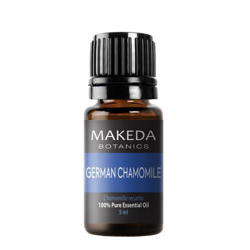 Етерично масло MAKEDA Botanics Немска лайка (GERMAN CHAMOMILE) терапевтичен клас 5 мл