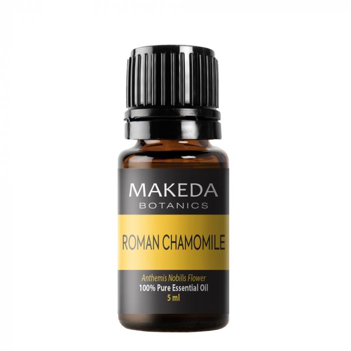 Етерично масло MAKEDA Botanics Римска Лайка (ROMAN CHAMOMILE) терапевтичен клас 5мл