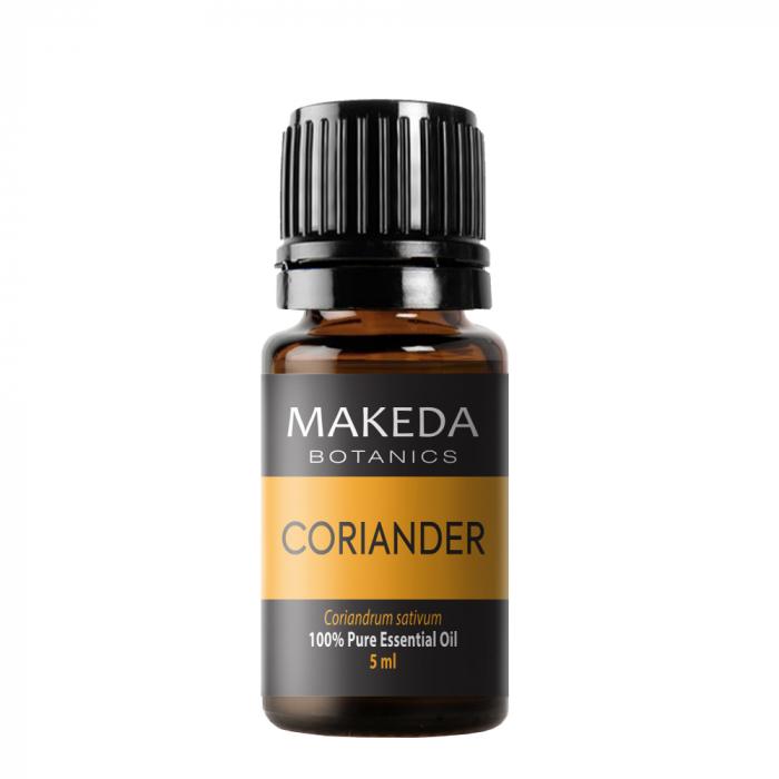 Етерично масло MAKEDA Botanics Кориандър (CORIANDER)  терапевтичен клас 5 мл