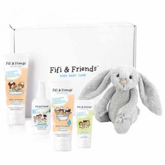 Комплект за коса и тяло за бебета и деца (4 продукта) Fifi&Friends Fifi's Essentials