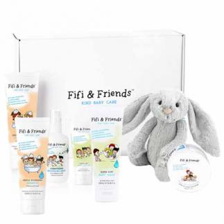 Комплект за коса и тяло за бебета и деца (6  продукта) Fifi&Friends Fifi's Comfort Collection