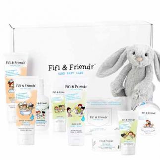 Комплект за коса и тяло за бебета и деца (9 продукта) Fifi&Friends Fifi's Pamper Hamper