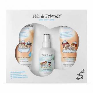 Подхранващ комплект за коса за бебета и деца Fifi&Friends The Hair Essentials
