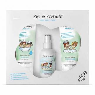 Комплект за къдрава коса за бебета и деца Fifi&Friends The Hair Taming Essentials