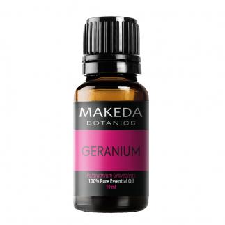 Етерично масло MAKEDA Botanics Гераниум (GERANIUM) терапевтичен клас 10 мл