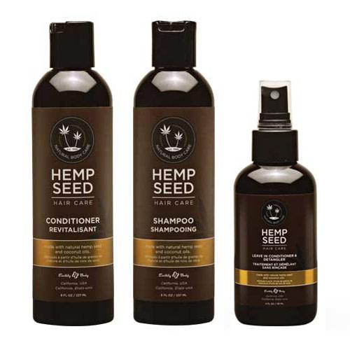 Трио за подхранване и разплитане на косата Hemp Seed