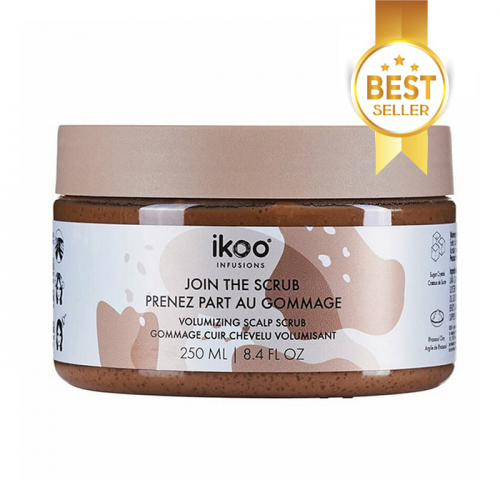 Скраб за скалп за обем IKOO Volumizing Scalp Scrub 250 мл