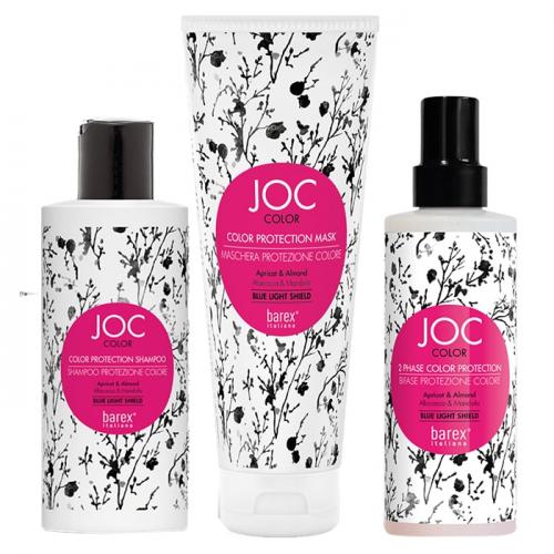 Трио за защита на цвета JOC Color шампоан + маска + спрей