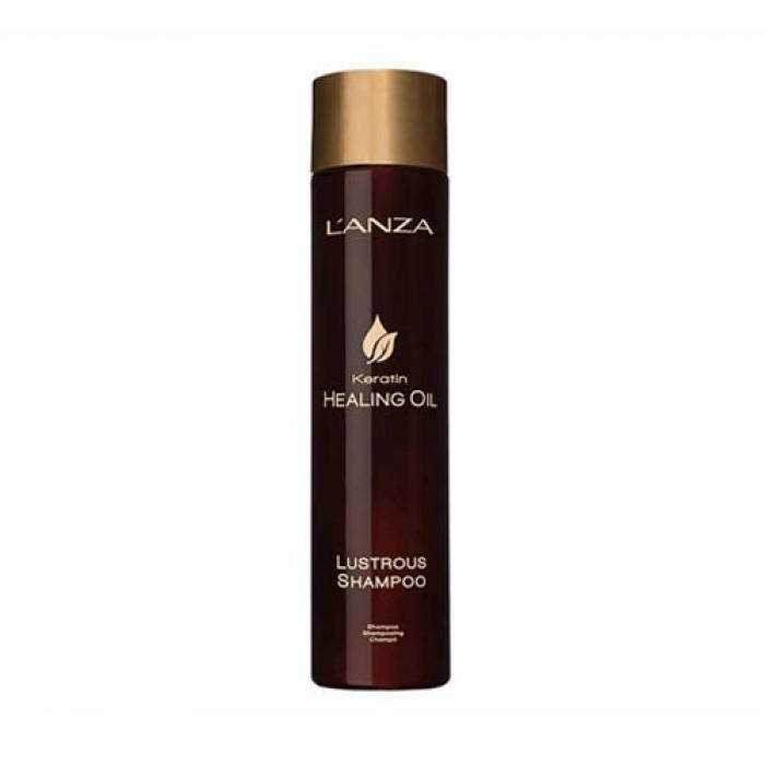 Възстановяващ шампоан с кератин за изтощена коса 300 мл LANZA Keratin Healing Oil