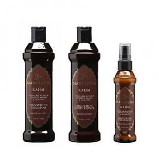 Трио за изправяне и изглаждане на косата Marrakesh KahM
