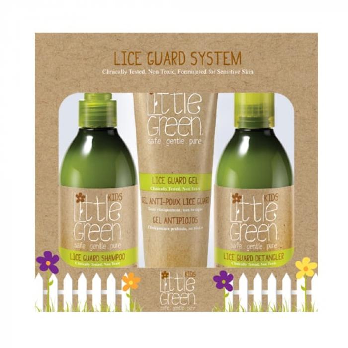 Комплект против въшки Little Green Kids Lice Guard