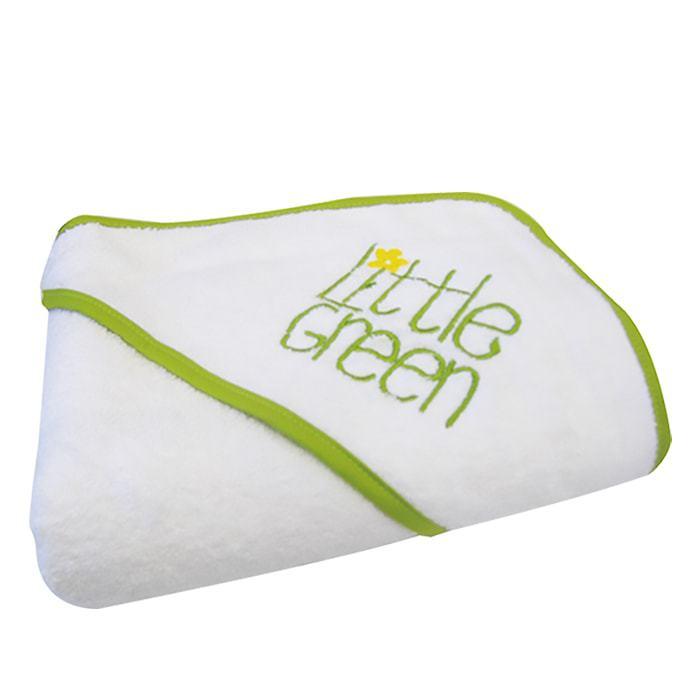 Хавлия за бебета с качулка Little Green Baby Hooded Towel