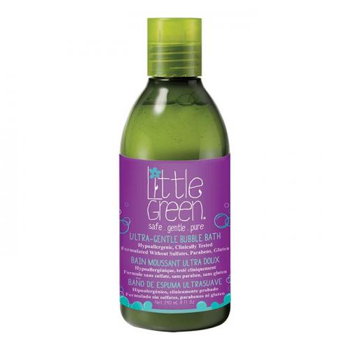 Детска пяна за вана без аромат Little Green Ultra-Gentle Bubble Bath 240 мл