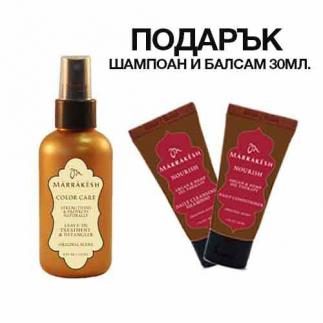 Спрей за разплитане за боядисана и изтощена коса 118 мл Marrakesh Color Care Leave-In Treatment & Detangler