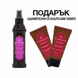 Спрей за разплитане на косата с конопено и арганово масло 118 мл Marrakesh X Leave-In Treatment & Detangler High Tide