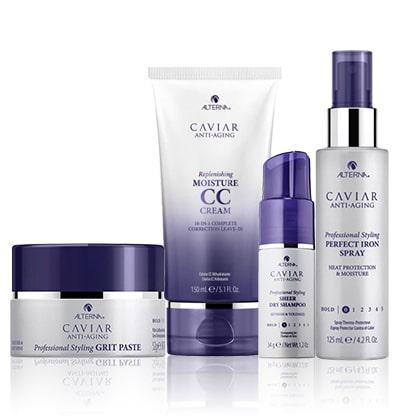 Caviar Стилизиране и грижа с хайвер
