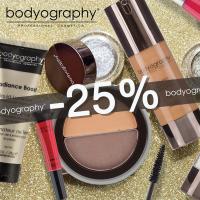 Неотразима за празниците с професионален грим Bodyography - 25 %