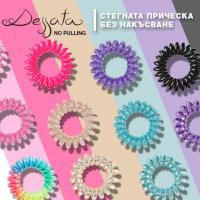 Dessata No Pulling - Ластиците, които не деформират косъма!