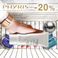 - 20 % на професионалната немска козметика за лице PHYRIS